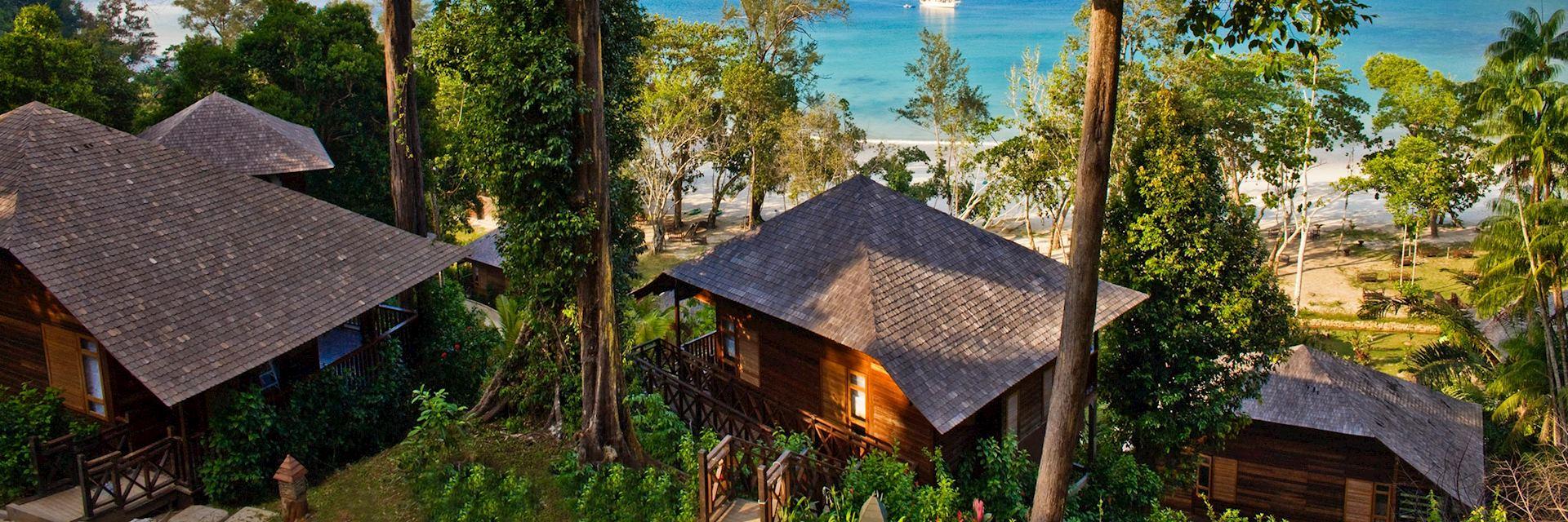 Bunga Raya Island Resort, Borneo
