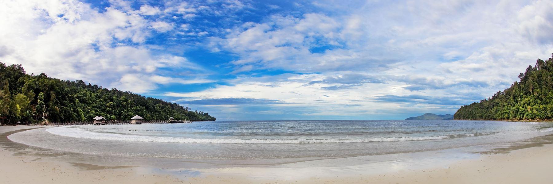 Visit Gaya Island, Borneo