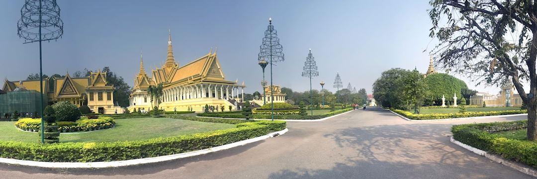 Pagoda in Phnom Penh