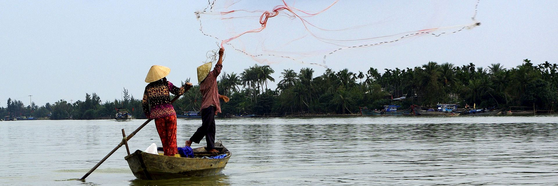 Fishing on the Mekong River, Cambodia