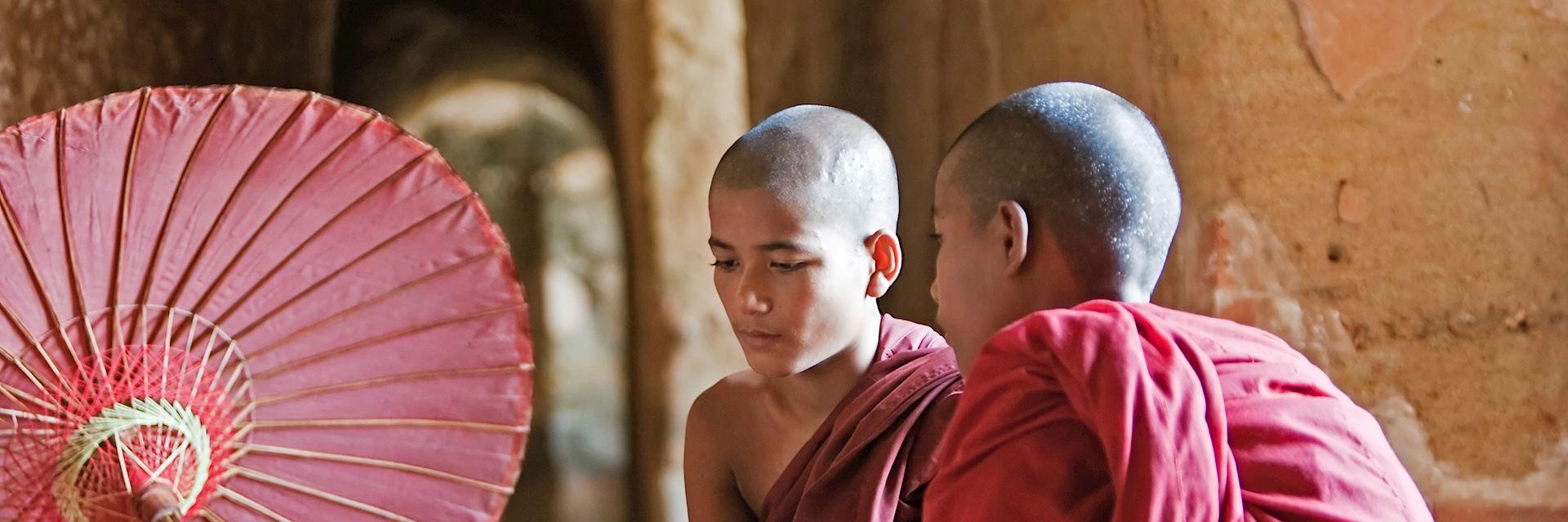 Buddhist monks, Cambodia