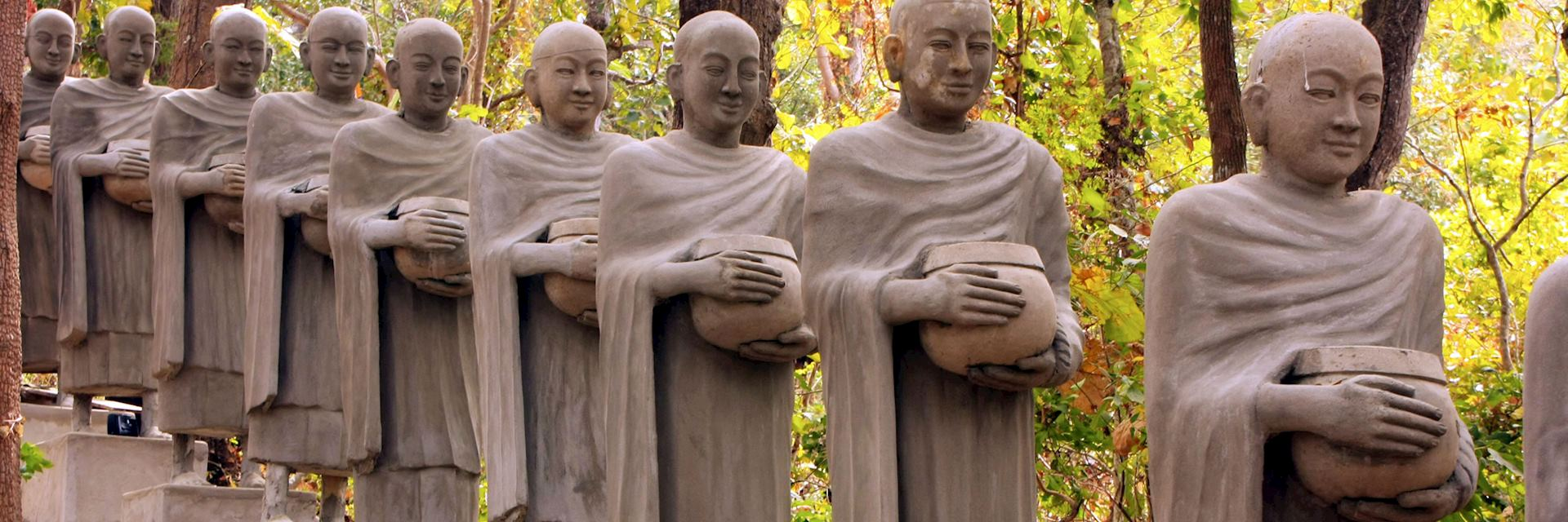 Buddha statues, Kratie