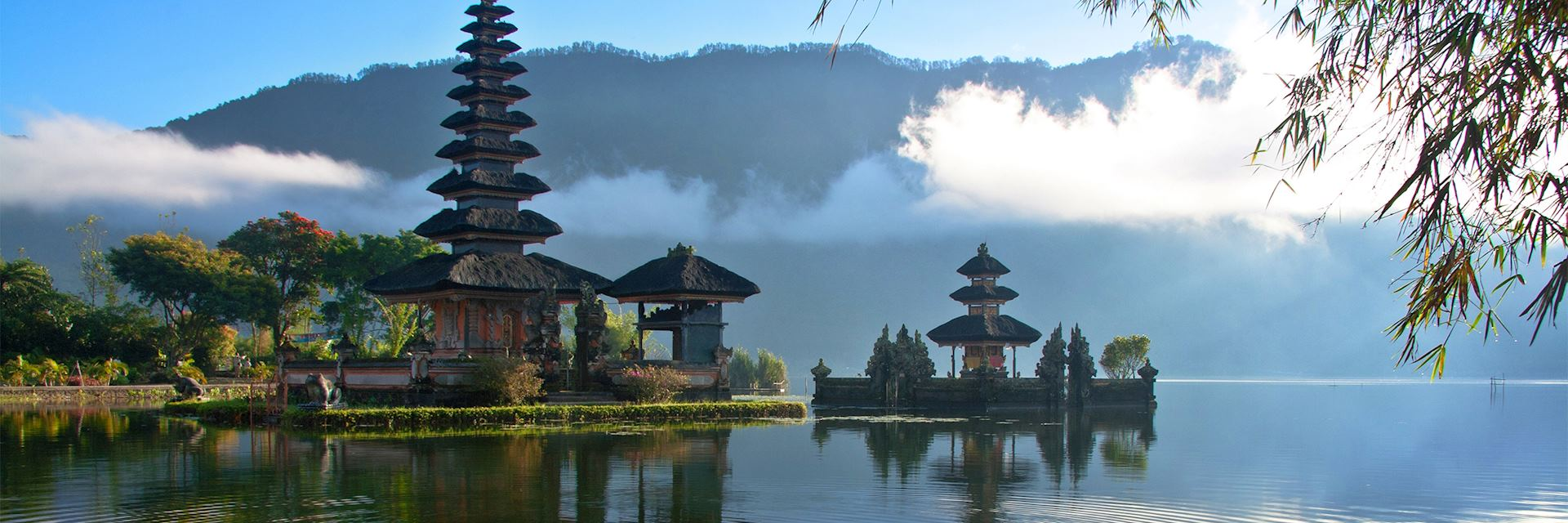 Peaceful lake, Bali, Indonesia