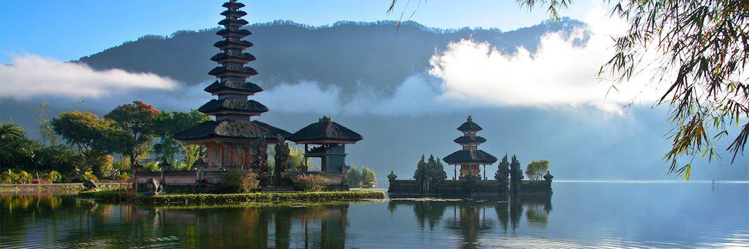 Peaceful lake, Bali, Indonesia
