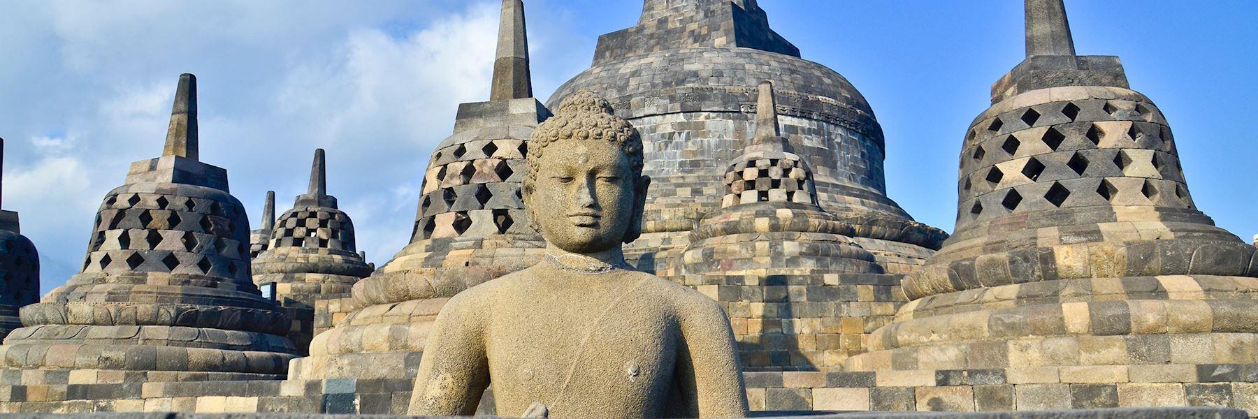 Visit Borobudur, Indonesia