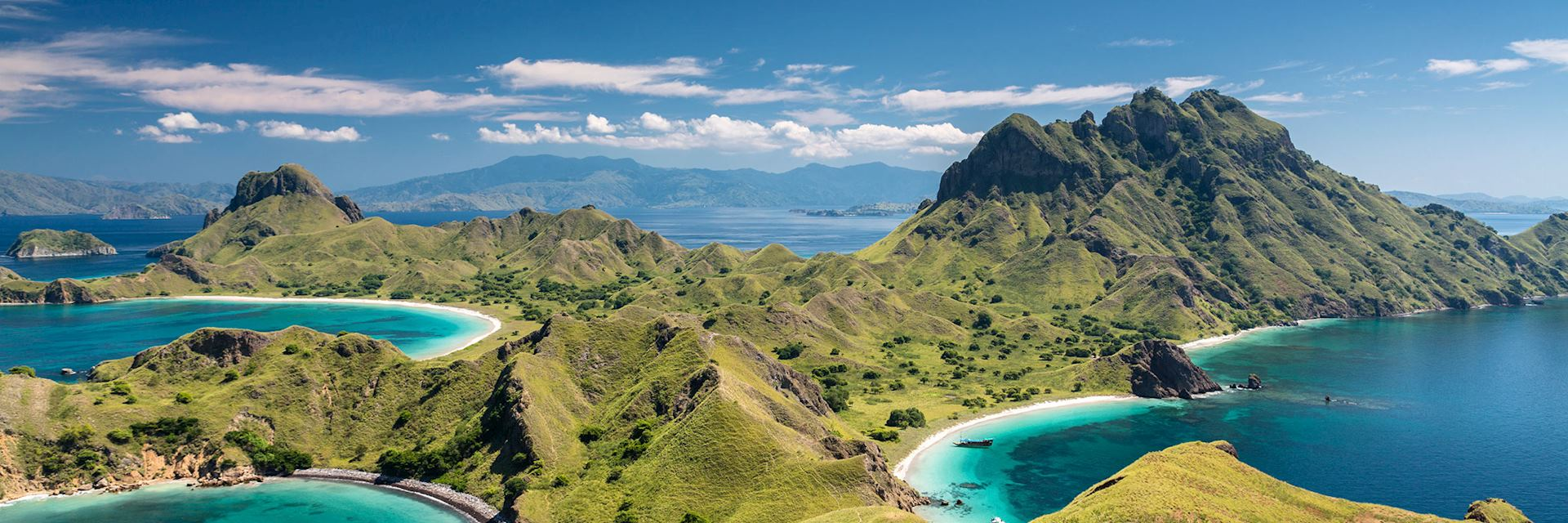 Mountain range in Komodo National Park
