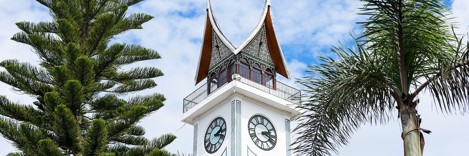 Clock tower in Bukittingi
