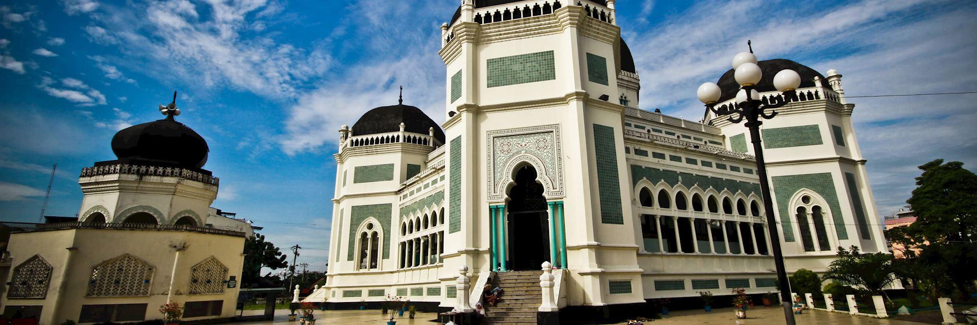 Masjid Raya Al Mashun mosque, Medan