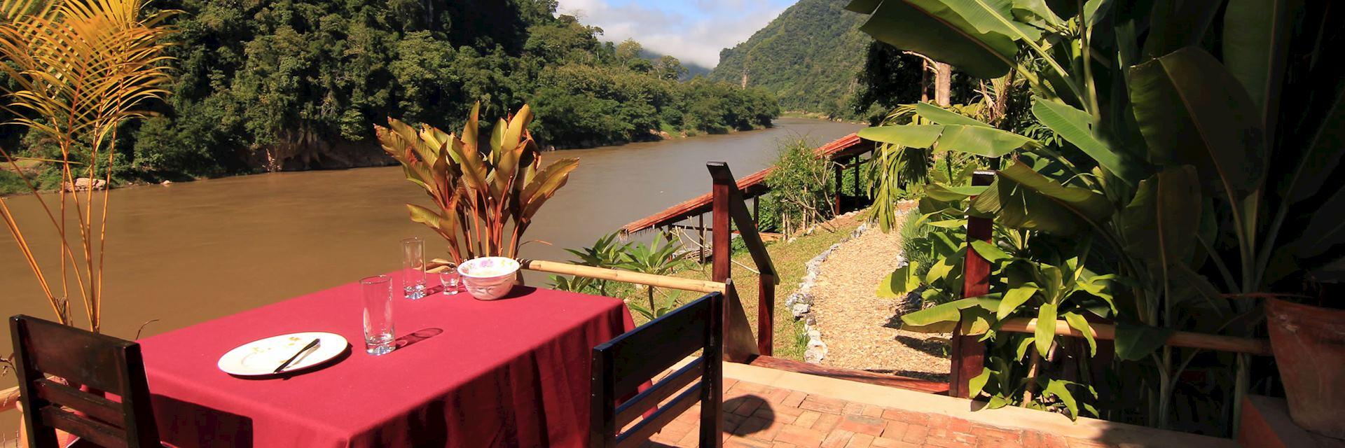 View from Mandala Ou,Nong Khiaw