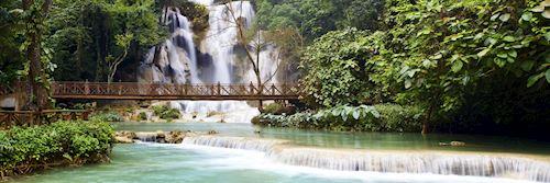 Waterfalls near Luang Prabang
