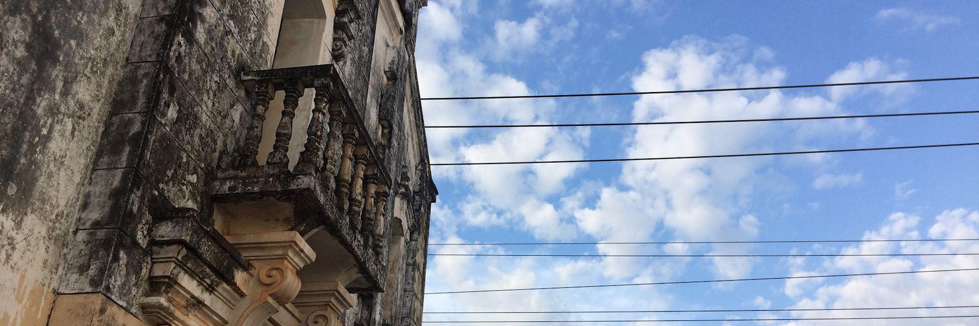 Old building in Thakhek