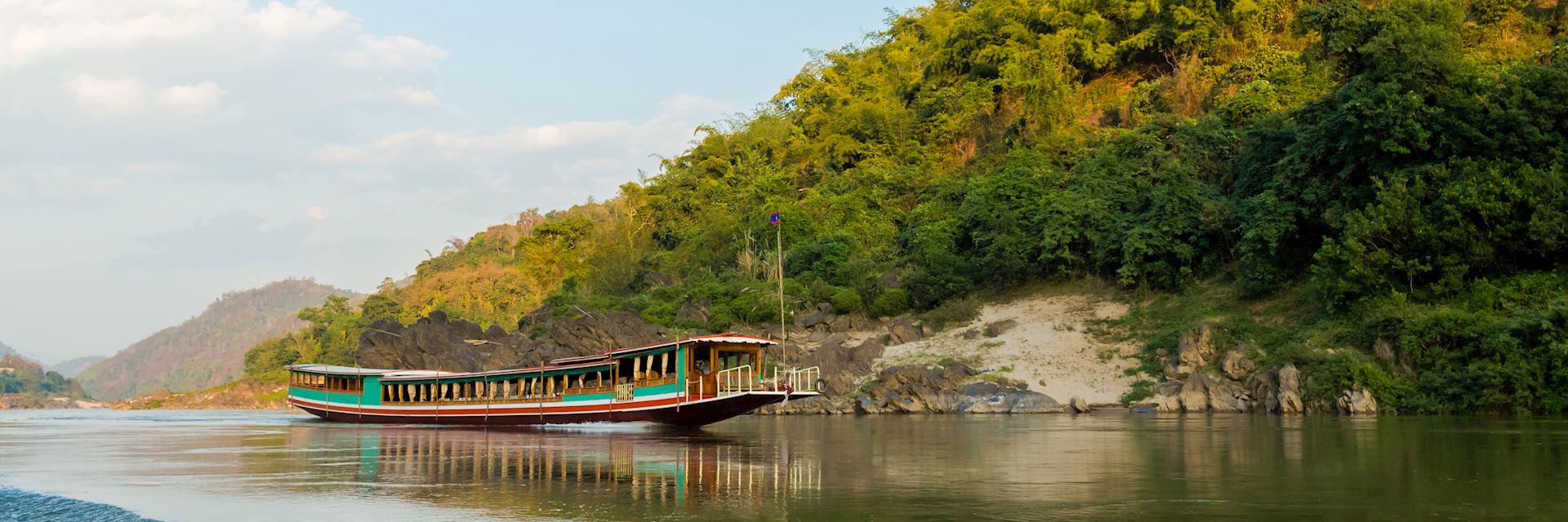 Mekong near Pakbeng