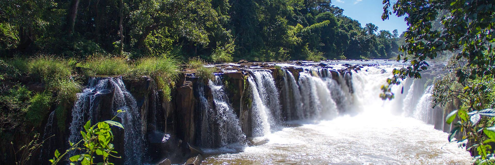 Tad Pha Souam Waterfall, Pakse