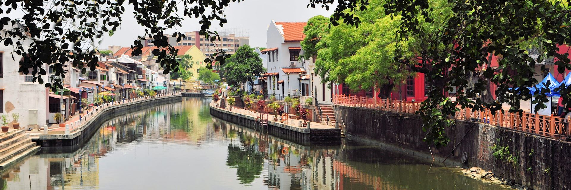 Waterfront houses, Malacca