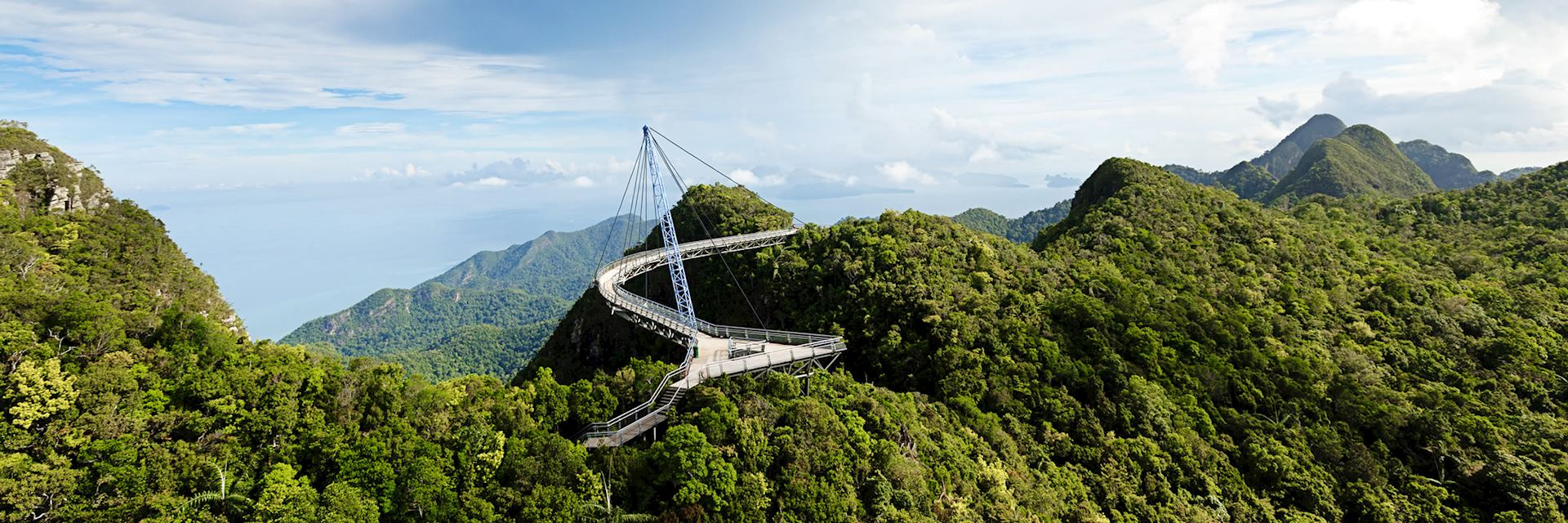 Skybridge on the island of Langkawi
