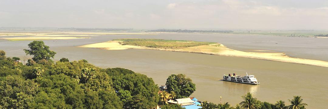 The Ayeyarwady River in Burma