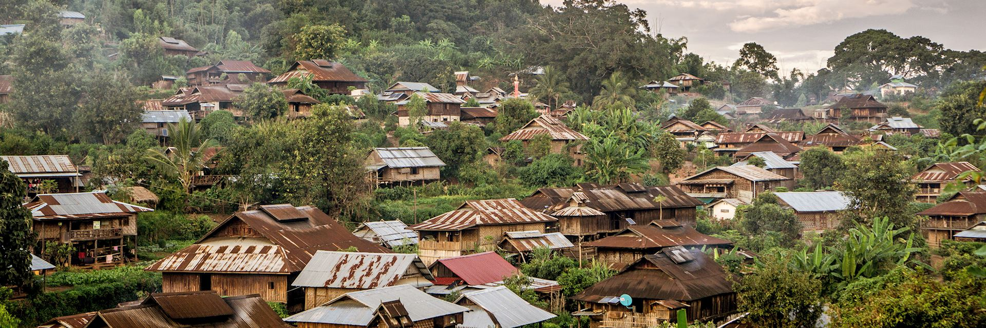 Shan village near Hsipaw