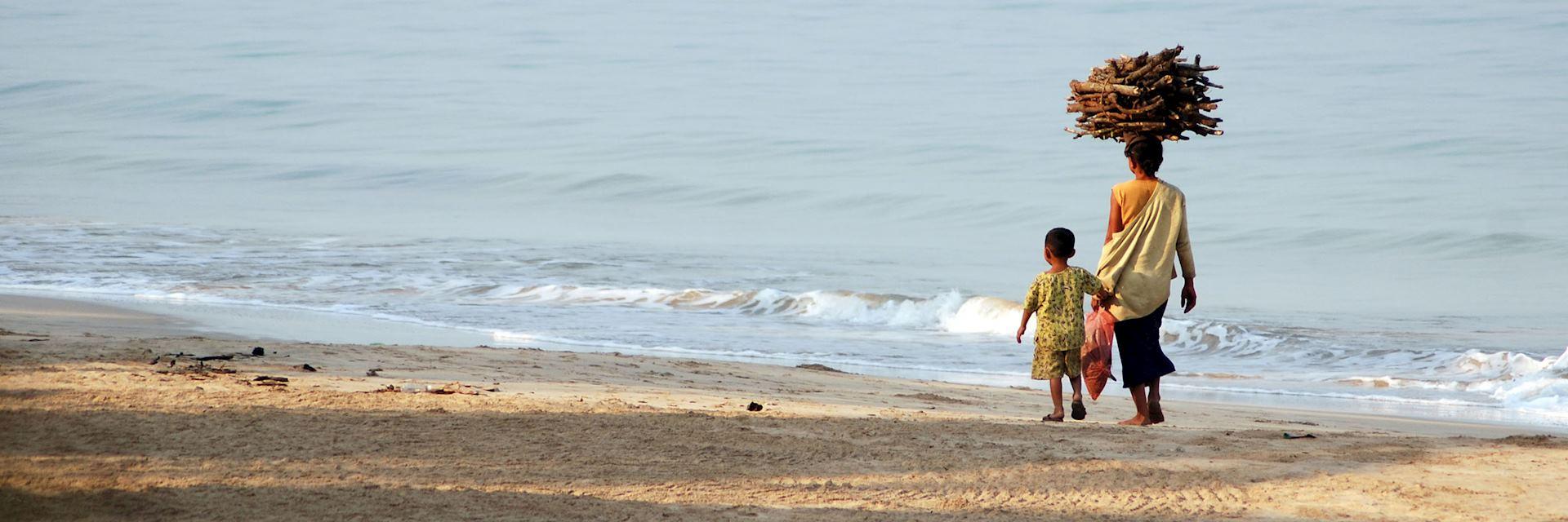 Ngapali Beach, Burma (Myanmar)
