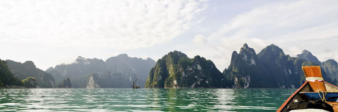 Khao Sok is also known as the Guilin of Thailand