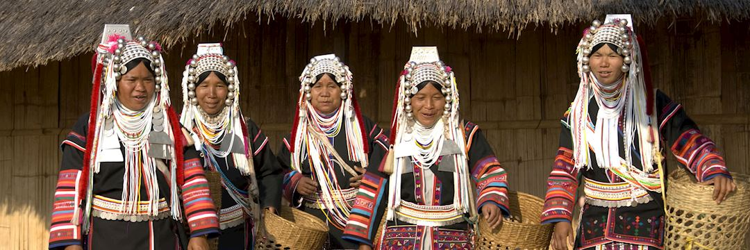 Akha women of northern Thailand