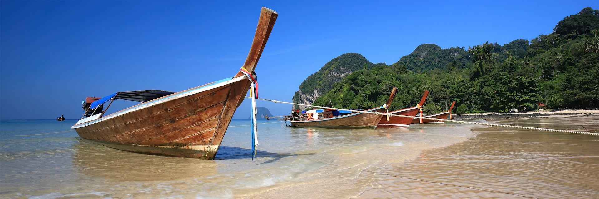 Long tail boat, Koh Lanta