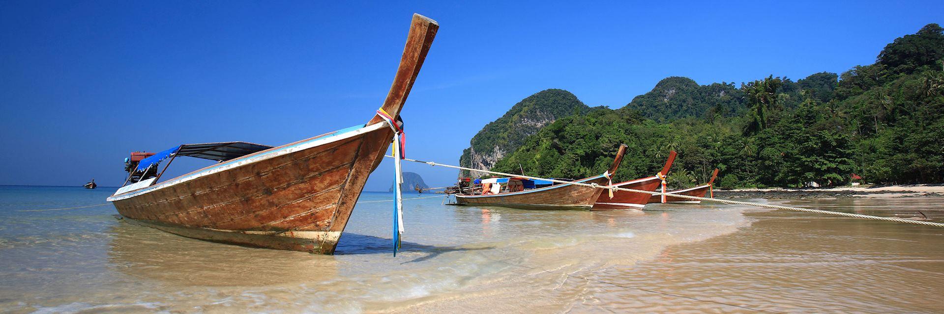 Long tail boat, Ko Lanta