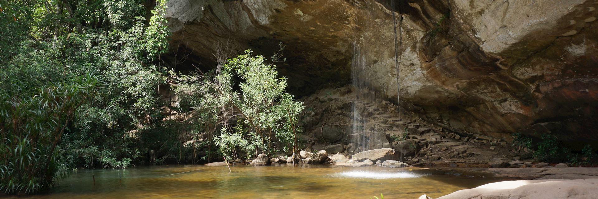 SanChan Waterfall, Khong Jiam