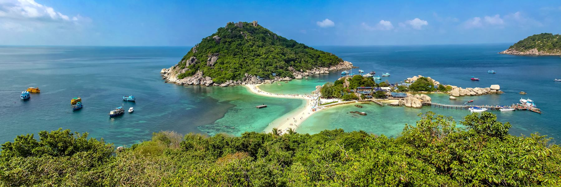 Visit Koh Phangan on a trip to Thailand