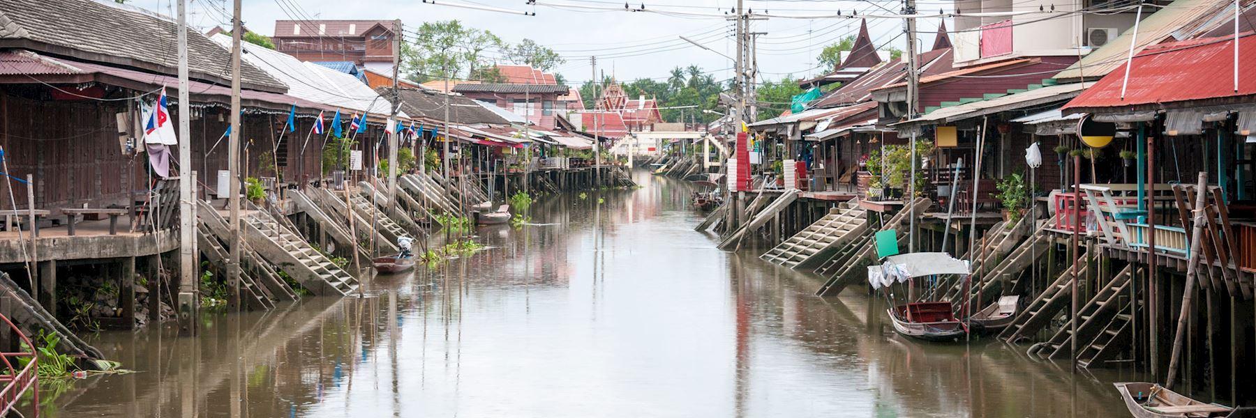 Visit Amphawa, Thailand