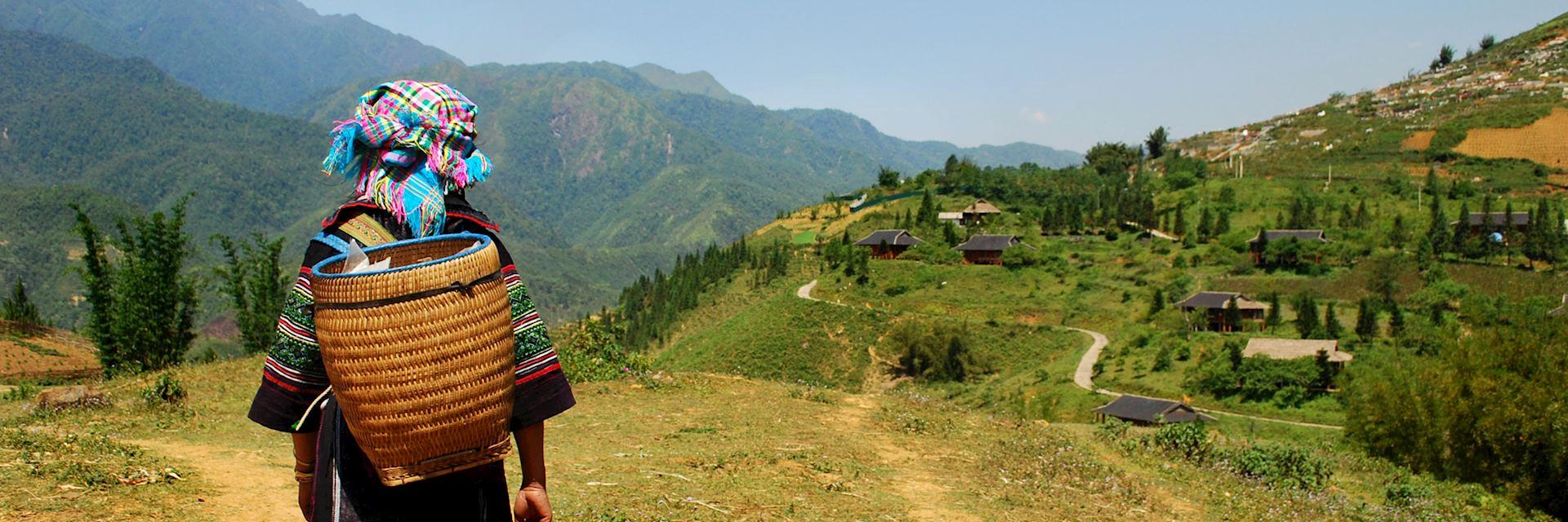 Woman from Hmong Tribe, Sapa