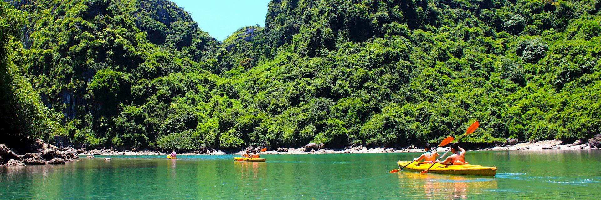 Lan Ha Bay near Halong Bay