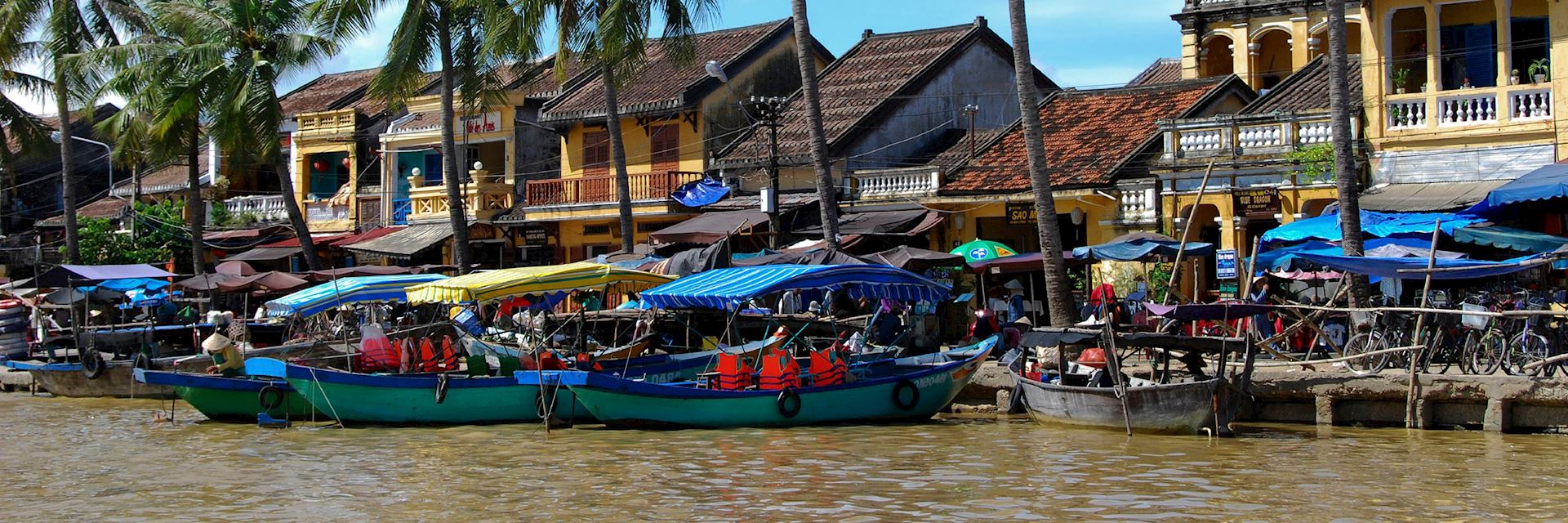 Hoi An's waterfront, Vietnam