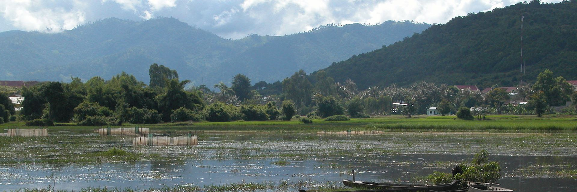 View of Lak Lake, Buon Ma Thuot