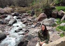 Amira in the High Atlas Mountains, Morocco