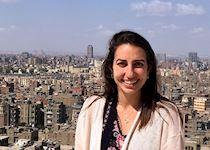Amira in Cairo, Egypt