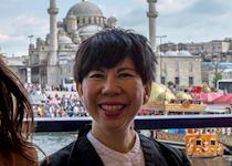 June exploring Istanbul, Turkey