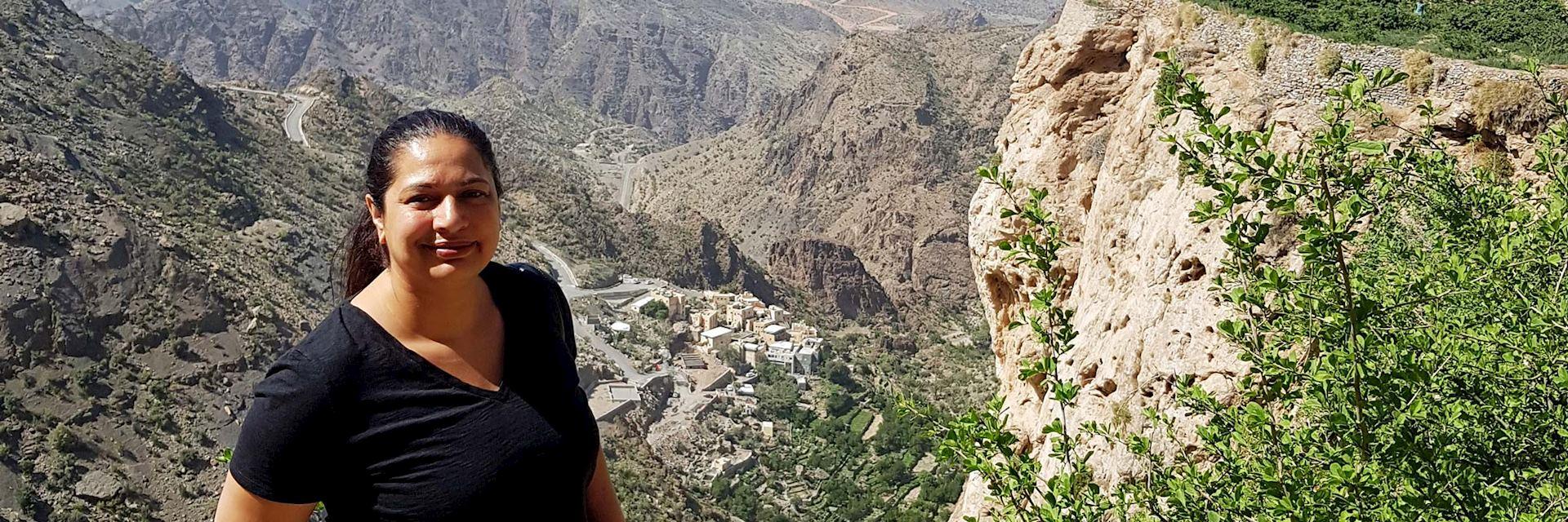 Shameem in Jebel Akhdar, Oman