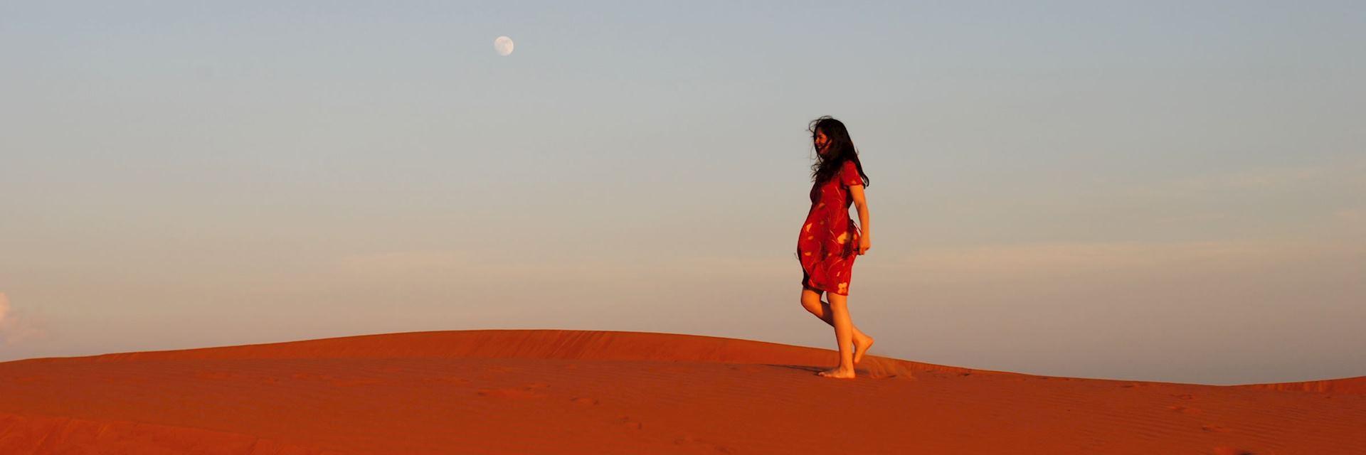 Zoe in Oman