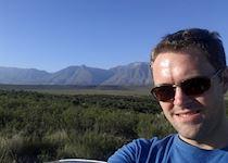 Andrew in Bontebok National Park, South Africa
