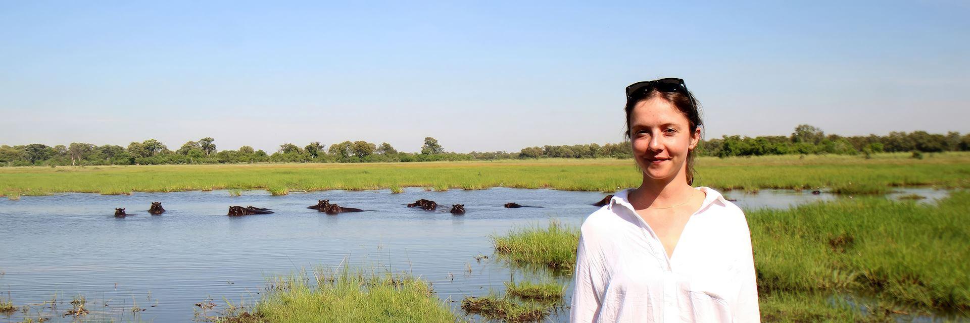 Georgie in Botswana