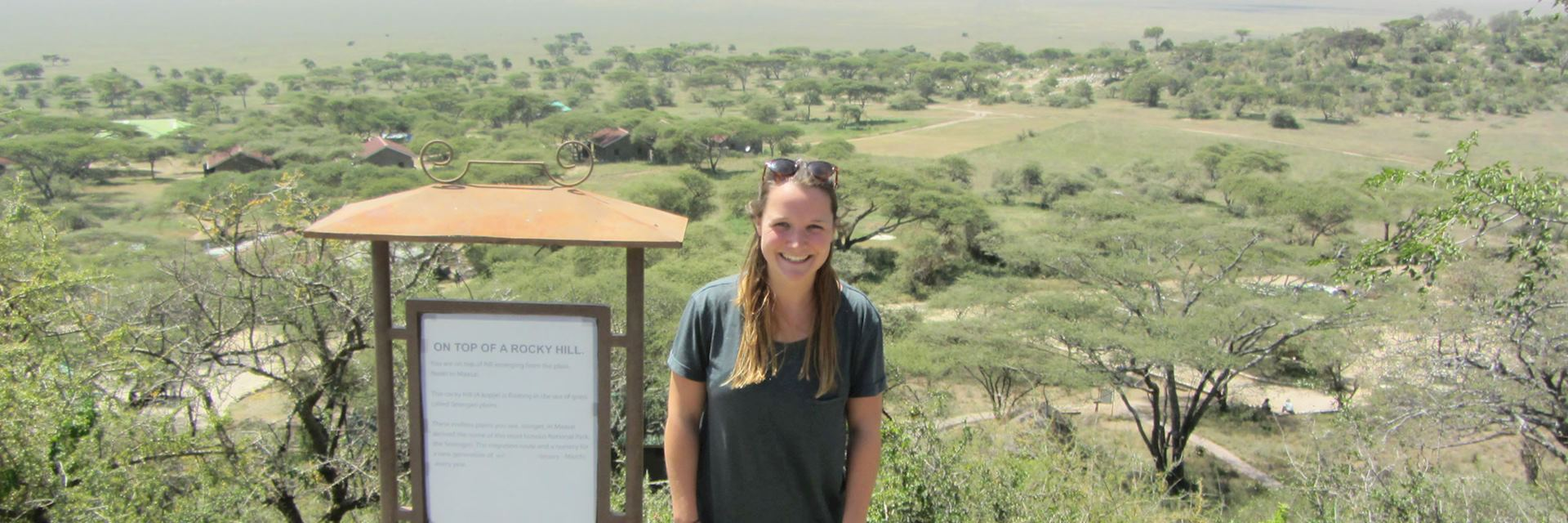 Izzy in the Serengeti, Tanzania