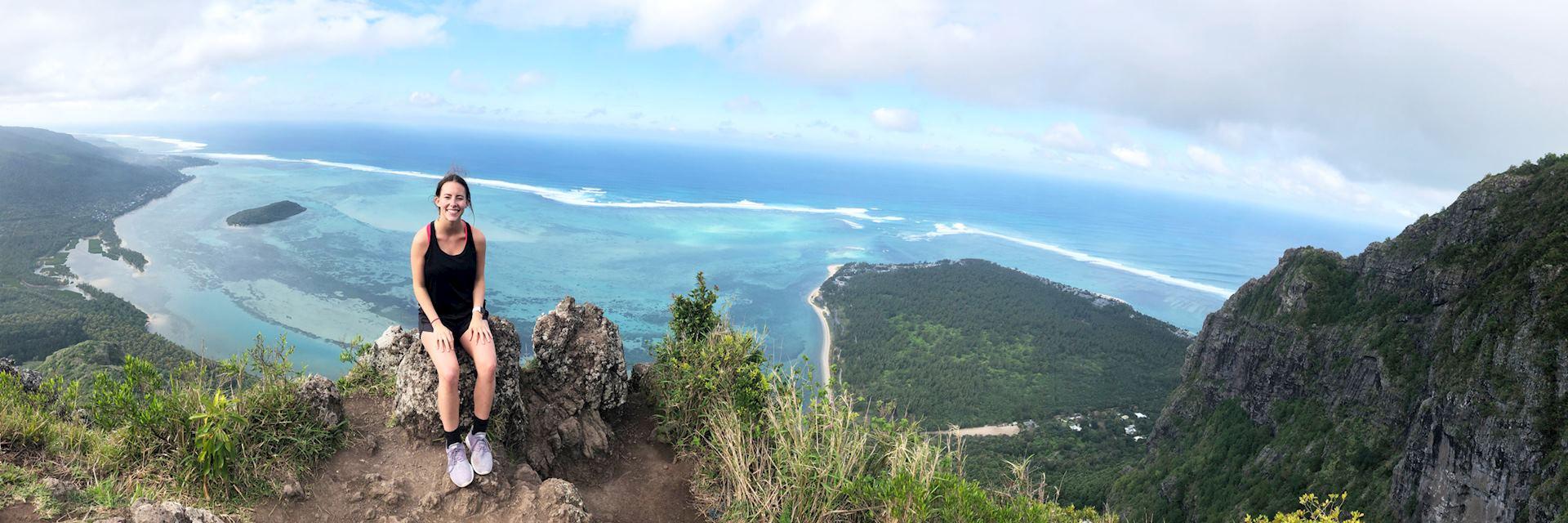 Laura at Le More, Mauritius