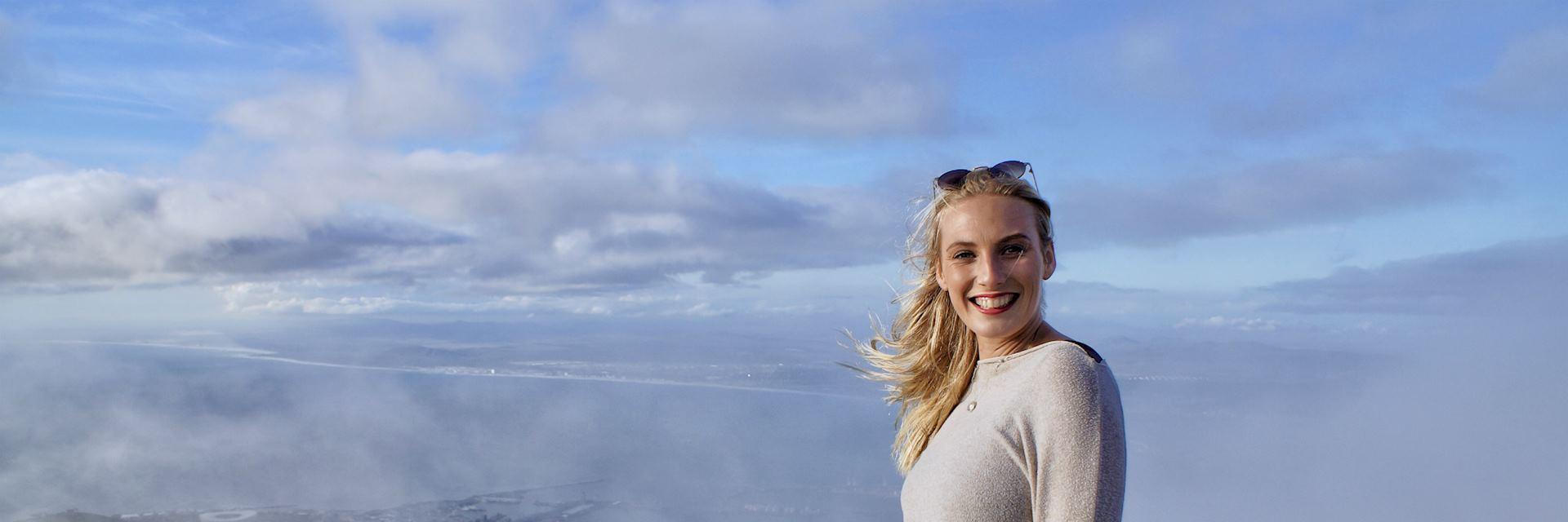 Lottie at Table Mountain