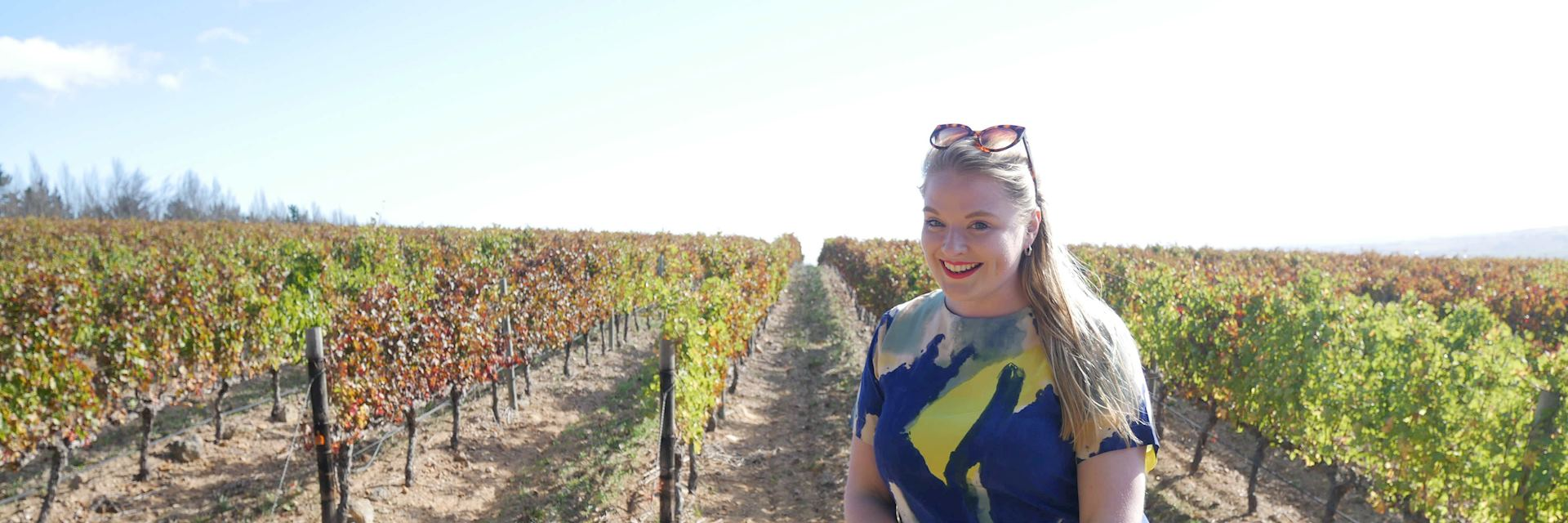 Stephanie at Waterford Wine Estate, South Africa