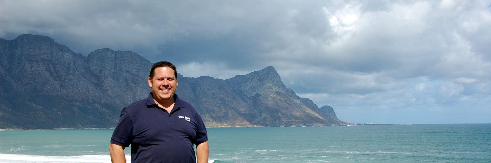 Steve at Walker Bay, South Africa