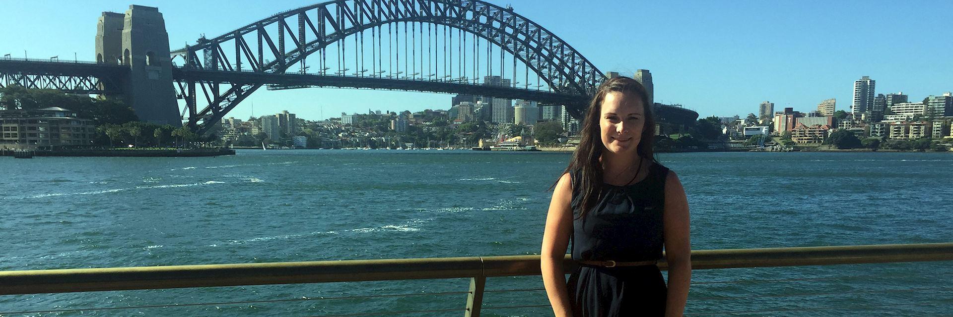 Pippa in Sydney, Australia