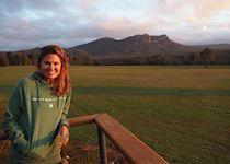 Rachele at Meringa Springs in the Northern Grampians, Victoria
