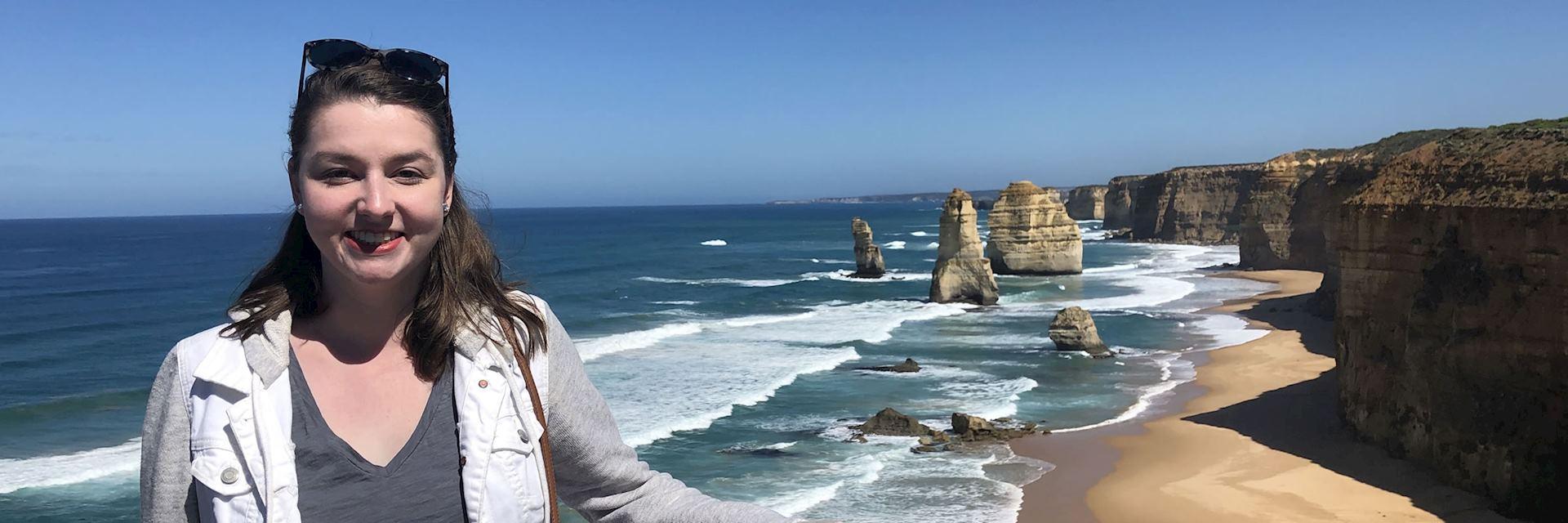 Sydney at the Twelve Apostles, Great Ocean Road