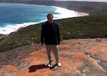 Tom on Kangaroo Island