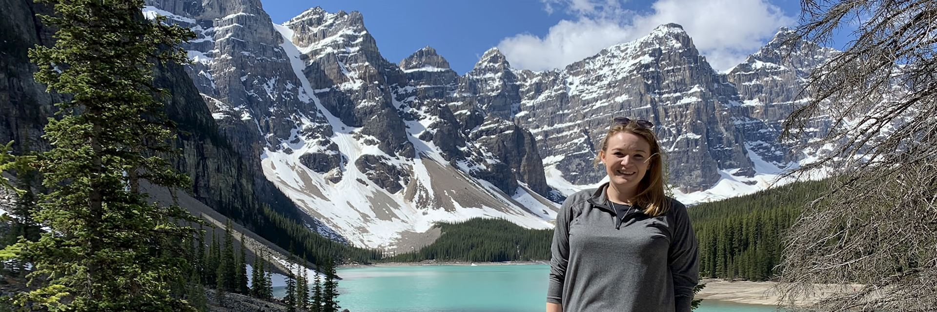 April at Lake Moraine